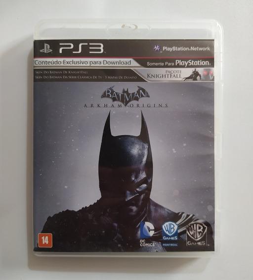 Batman Arkham Origins - Ps3 Playstation 3 Original