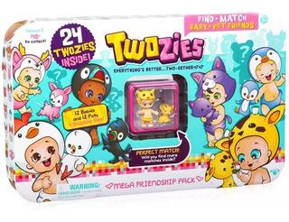 Twozies Pack 24 Figuras Mega Friendship Accesorios Original