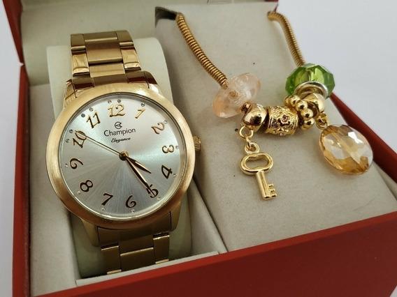 Relógio Champion Feminino 100% Original Novo Black Friday