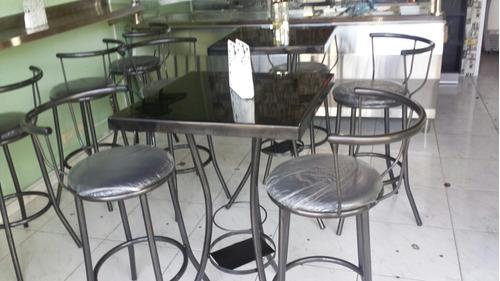 Sillas Y Mesas Para Cafeterias Taburetes
