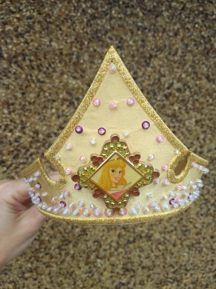Corona Tiara Disfraz Princesa Bella Aurora Disney Store Orig