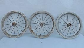 Antigas Rodas Pedal Car (austin Bandeirantes Carrinho Lata)
