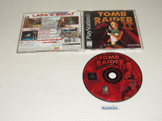 Tomb Raider 2 Original Playstation One Black Label