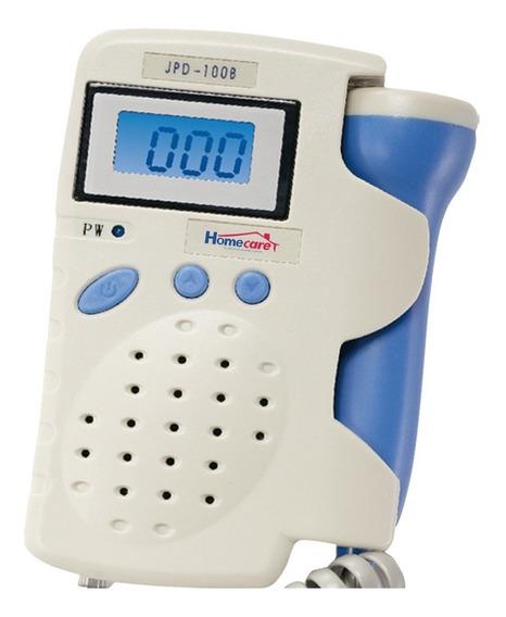 Doppler Fetal Portatil 2.5 Mhz Recargable Pantalla Lcd Azul
