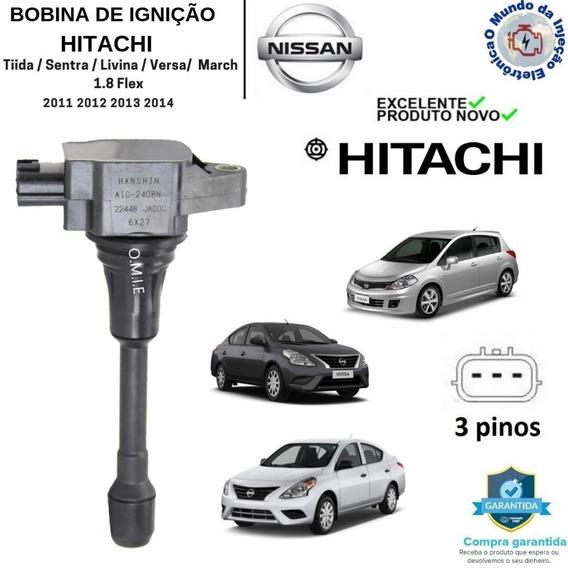 Bobina De Ignição Livina Sentra Tiida 1.8 Versa 2.0 Hitachi
