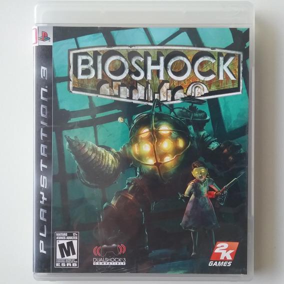Bioshock 1 Ps3 Mídia Física Original Usado