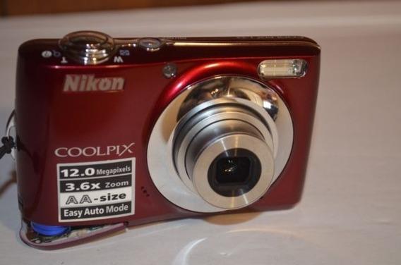 Camera Digital Nikon Coolpix L22 12.0mp 3.6x Zoom