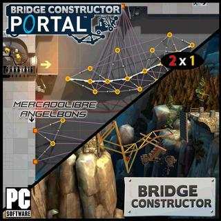 2 X 1 Bridge Constructor + Bridge Constructor Portal Oferta