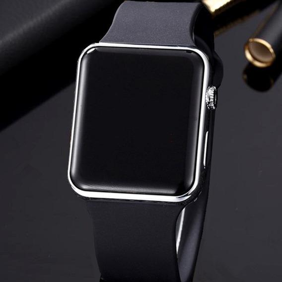Relógio Digital Led Silicone Masculino E Feminino (promoção)