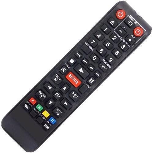 Controle Remoto Blu-ray Samsung Netflix Bd-e5900/za, Bd-e590