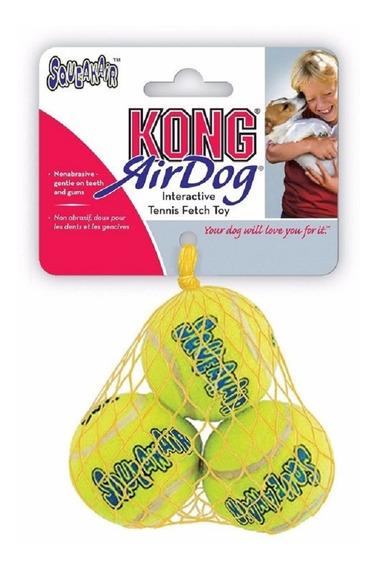 Kong Squeakair Tennis Ball Small Pequeno Brinquedo Bola Cães