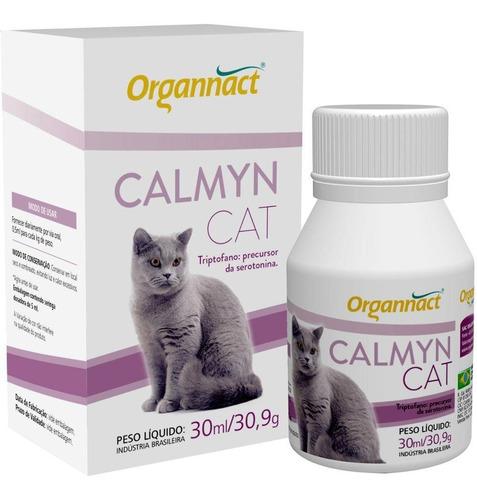 4 X Calmyn Cat 30 Ml Organnact 30ml