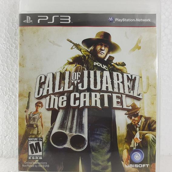Jogo Call Of Juarez The Cartel Playstation 3 Ps3 Mídia Físic