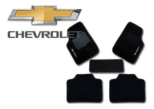Jogo Tapetes Ecotap Soft Carpete Universal Chevrolet Preto