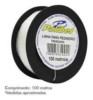 Linha Pedreiro Polibel Lisa C/100mt C/12 Unidades