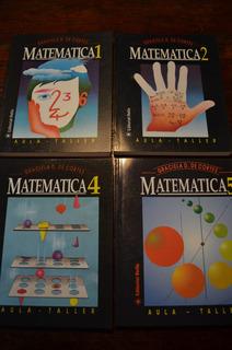 Lote Matematica 1,2,4 Y 5º Aula Taller/stella ¡¡4 X $ 300!!