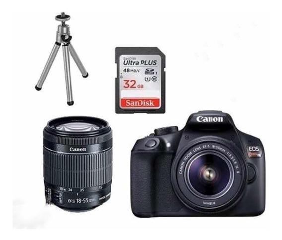 Câmera Cânon Eos Rebel T6