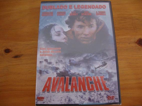 Dvd Avalanche Original Novo Lacrado