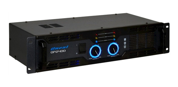 Amplificador Oneal Op 2400 400wrms 4 Ohms Bivolt
