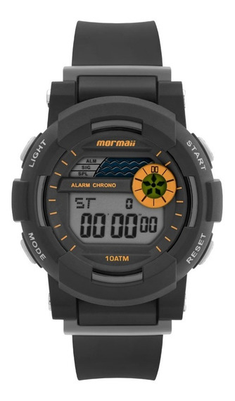 Relógio Mormaii Unissex Digital Mo9081aa/8l Preto Pequeno