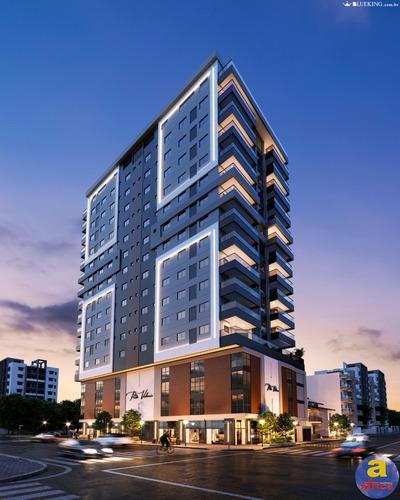 Imagem 1 de 20 de Apartamento 3 Suítes, 2 Vagas De Garagem Na Meia Praia Em Itapema/sc - Imobiliária África - Ap00232 - 68827815