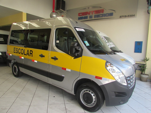 Renault Master 0 Km Escolar L2h2 20 Lugares