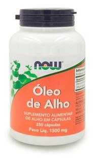 Óleo De Alho Garlic Now Foods Sem Odor 250 Caps Importado