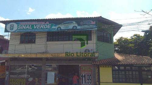 Imagem 1 de 25 de Sala Para Alugar, 200 M² Por R$ 3.200,00/mês - Nova Aliança - Rio Das Ostras/rj - Sa0010