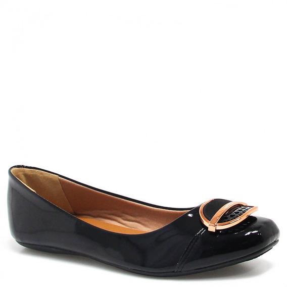 Sapatilha Zariff Shoes Verniz Metal 800411324