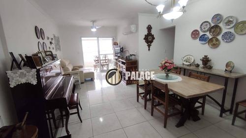 Imagem 1 de 28 de Apartamento Com 2 Dormitórios À Venda, 103 M² Por R$ 650.000,00 - Canto Do Forte - Praia Grande/sp - Ap1121