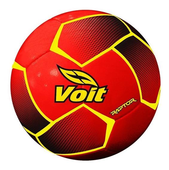 Balón De Fútbol Soccer Raptor No. 4 Mod 78318 Rojo Voit