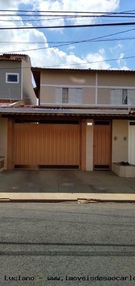 Sobrado Para Venda Em São Carlos, Jardim Alvorada, 3 Dormitórios, 1 Suíte, 4 Banheiros, 2 Vagas - Ls358_1-1373080