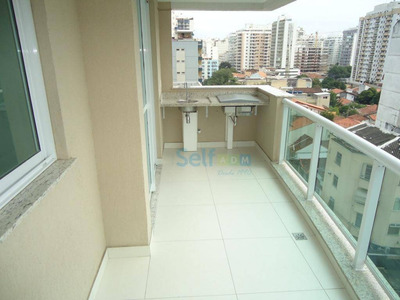 Apartamento Em Santa Rosa, Niterói/rj De 75m² 2 Quartos Para Locação R$ 1.500,00/mes - Ap250922