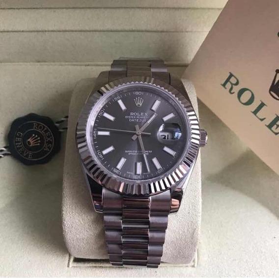 Relógio Rolex Datejust ,automático,safira,acabamento Suíço