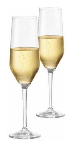 Kit Taças Champagne Elegance Cristal Ritzenhoff  260ml 2 Pcs