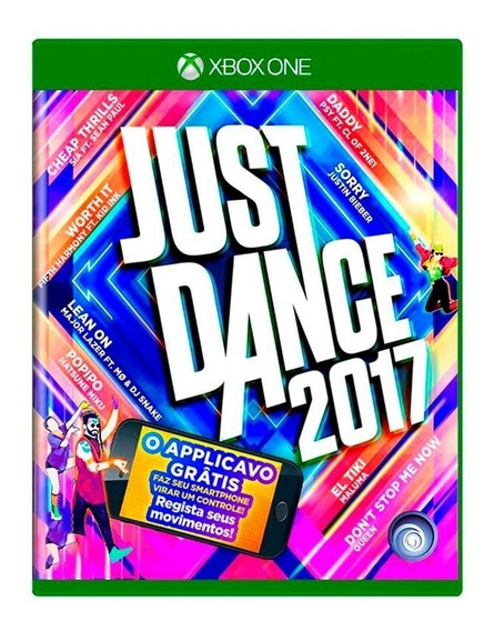 Jogo Just Dance 2017 - Kinect - Xbox One - Mídia Física