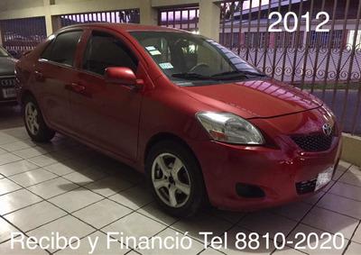 Toyota Yaris Recibo Y Financió