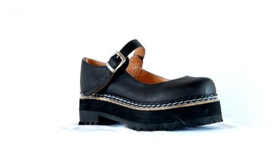 Guillerminas Dirty Boots Base Triple Cuero N° 33 Al 36