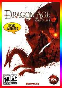 Dragon Age Origins Pc - 100% Original Steam Key (envio Já)