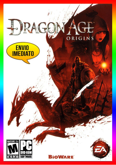 Dragon Age Origins Pc - Steam Key (envio Já)