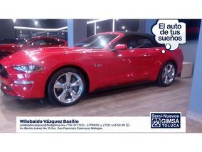 Ford Mustang 2 Pts. Gt, Ta, Piel, 6 Cd 2019 Seminuevos