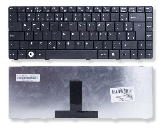 Teclado Para Notebook Megaware Meganote 0kn0-6b3br01 Preto Abnt2 Marca Bringit