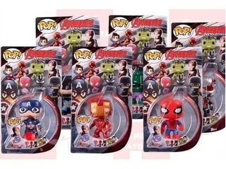 Muñecos Funko Pop Avengers Marvel Superheroes Favoritos