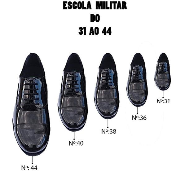 Sapato Social Adulto E Infantil Solado De Borracha 31 Ao 44