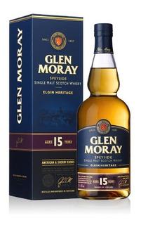 Whisky Glen Moray 15 Años Heritage Single Malt Escoces