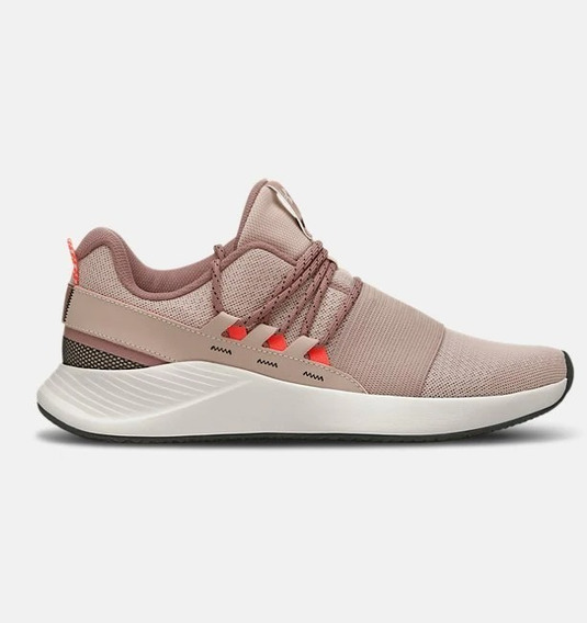 Tênis Feminino Under Armour Charged Breathe Rosa