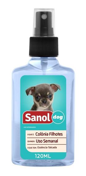 Colônia Sanol Dog Filhote - 120ml