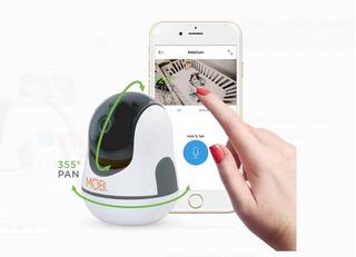 Cámara Mobi Vigilancia Bebés Mobicam Hdx Smart Hd Wifi / B