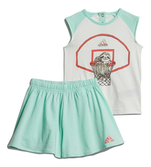 Conjunto Playera Con Short Animal Bebe Dv1262