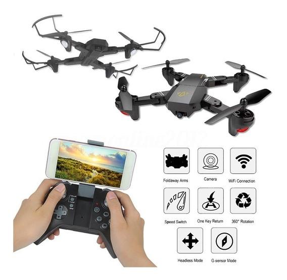Drone Profissional Visuo Xs809w Câmera 2mp Vs Dji Mavic Pro